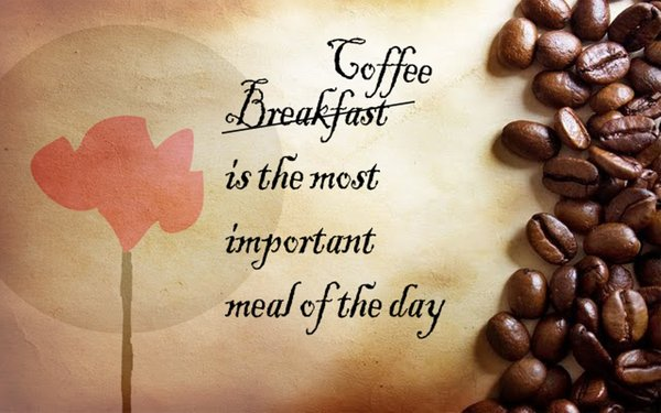 Coffee is the most important meal of the day\\n\\n17/04/2015 16.15